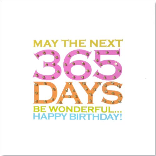 Birthday | 365 Days Glitter Dots