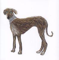 Dog | Glitter Lurcher