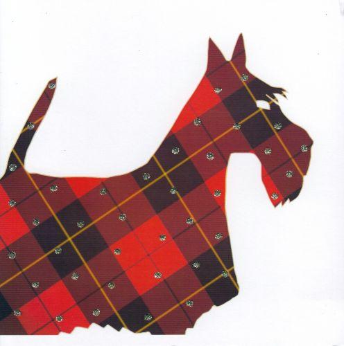 Dog | Red Tartan Scottie
