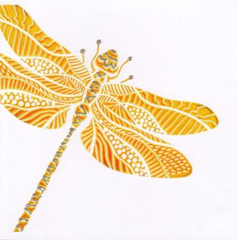 Dragonfly | Gold