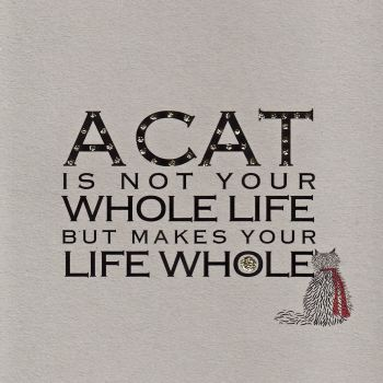 Witty Words | A Cat is... clay