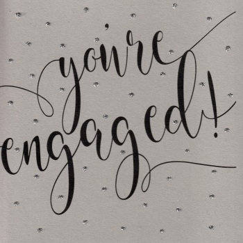 Glitter Dots  XL  |  Engaged