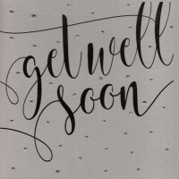 Glitter Dots  XL  |  Get well soon, clay - 701CXL