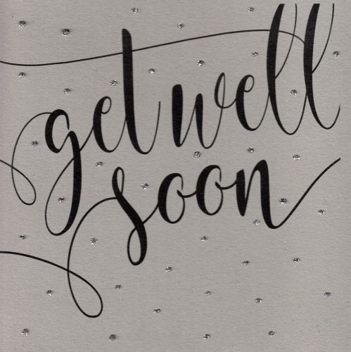 Glitter Dots  |  Get well soon