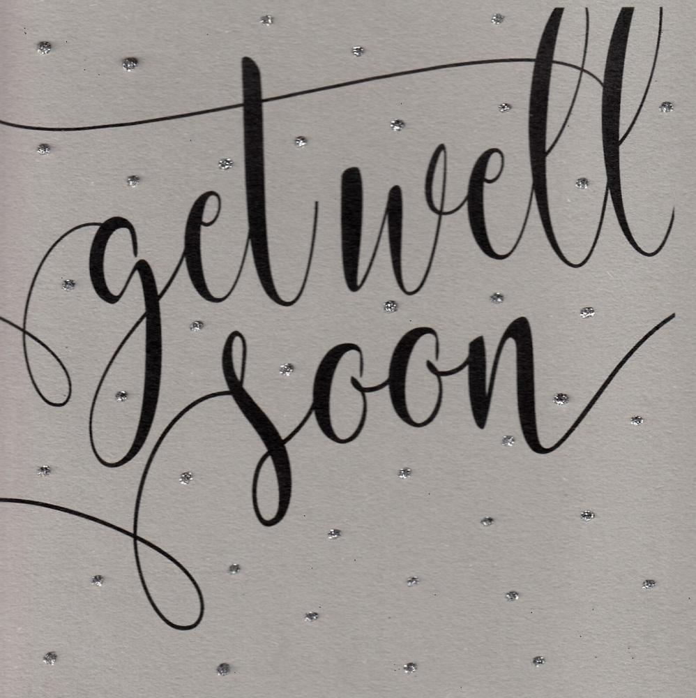 Glitter Dots  |  Get well soon