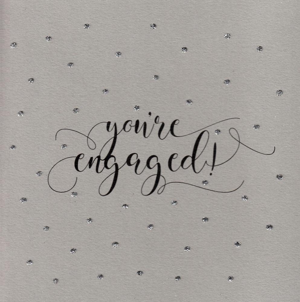 Glitter Dots  |  Engaged