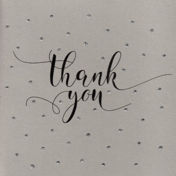 Glitter Dots  |  Thank you