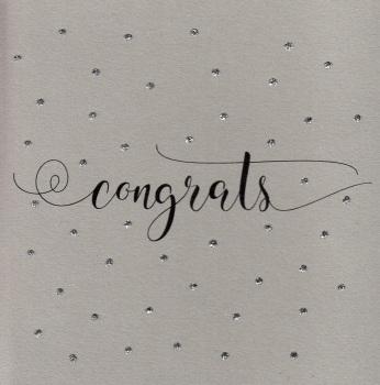 Glitter Dots  |  Congrats