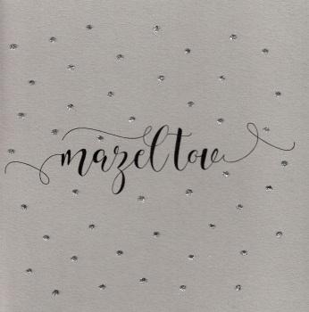 Glitter Dots  | Mazel Tov, clay - 726C