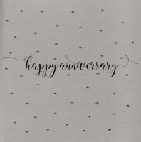Glitter Dots  | Happy Anniversary , clay - 727C NF