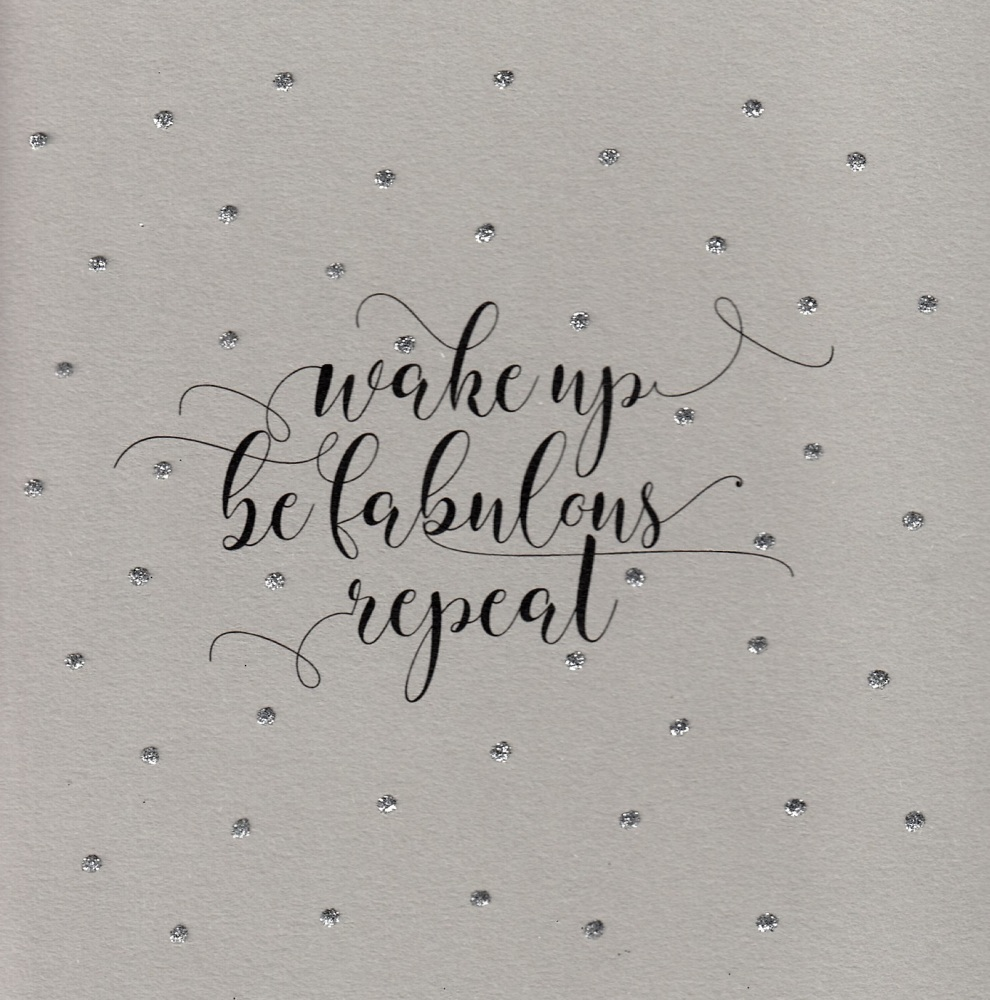 Glitter Dots  |  Wake up....