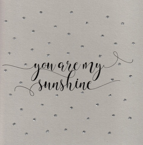 Glitter Dots  |  Sunshine