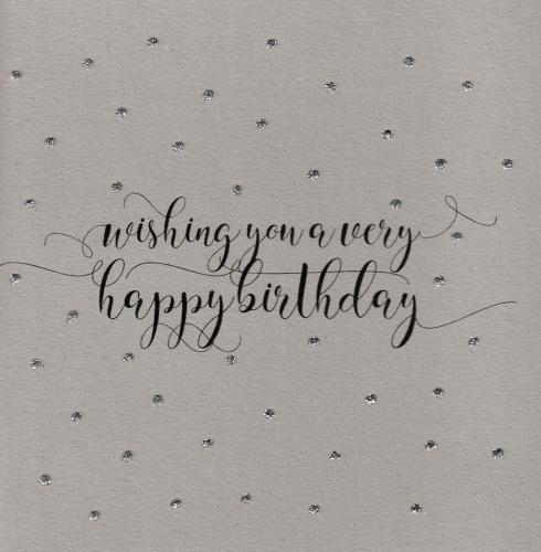 Glitter Dots     Birthday