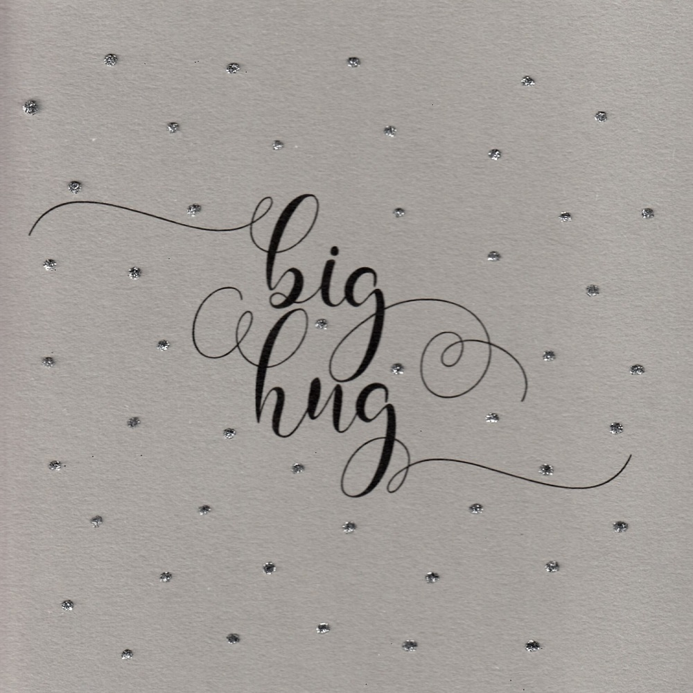 Glitter Dots  | Big hug