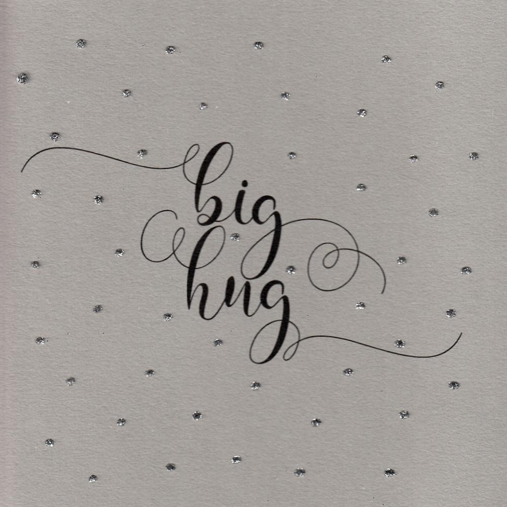 Glitter Dots    Big hug