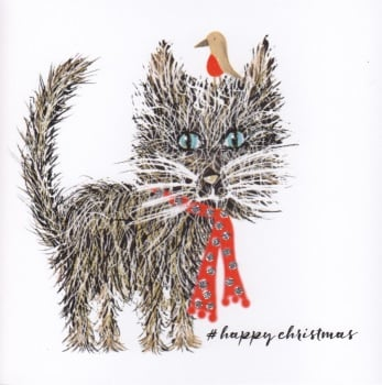 Christmas | Cat, Glitter Whiskers