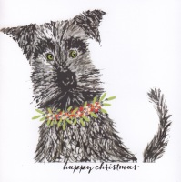 Christmas | Dog, Schnauzer