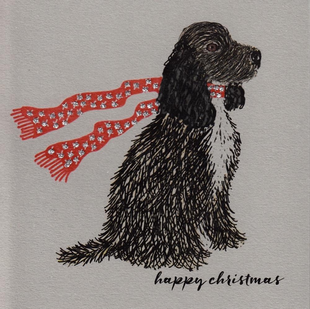 Christmas | Dog, Cocker Spaniel, clay