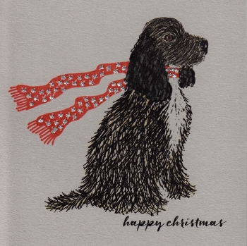 Christmas | Dog, Cocker Spaniel, clay