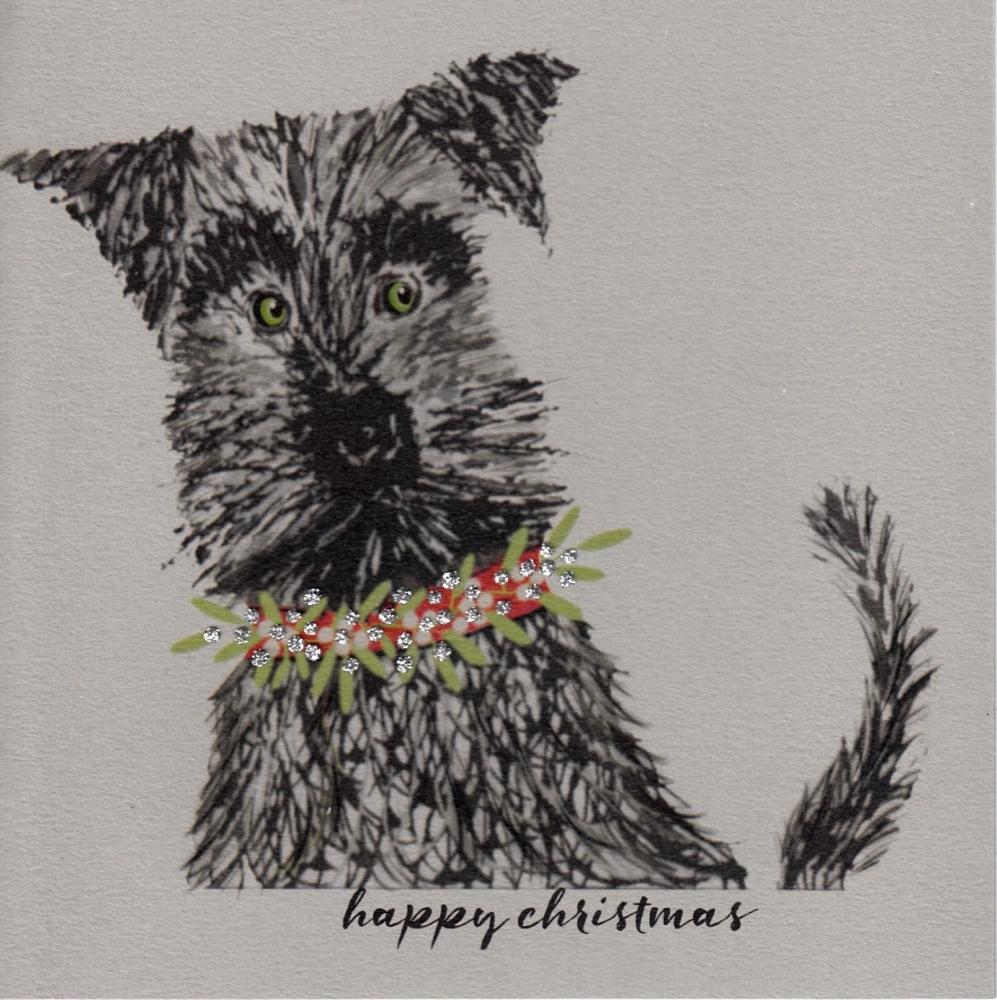 Christmas | Dog, Schnauzer, clay