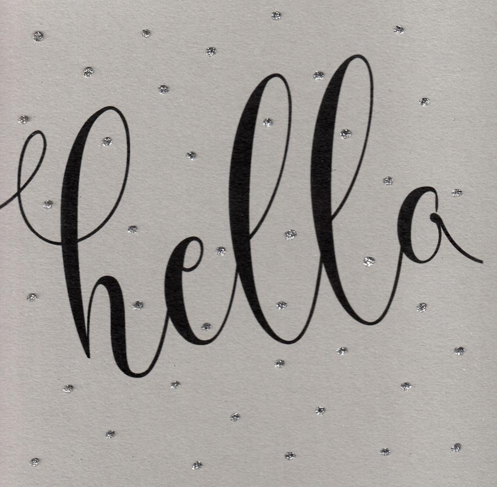 Glitter Dots  XL  |  Hello