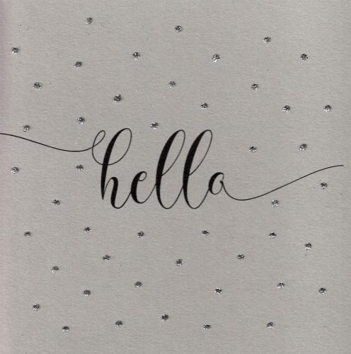 Glitter Dots  |  Hello
