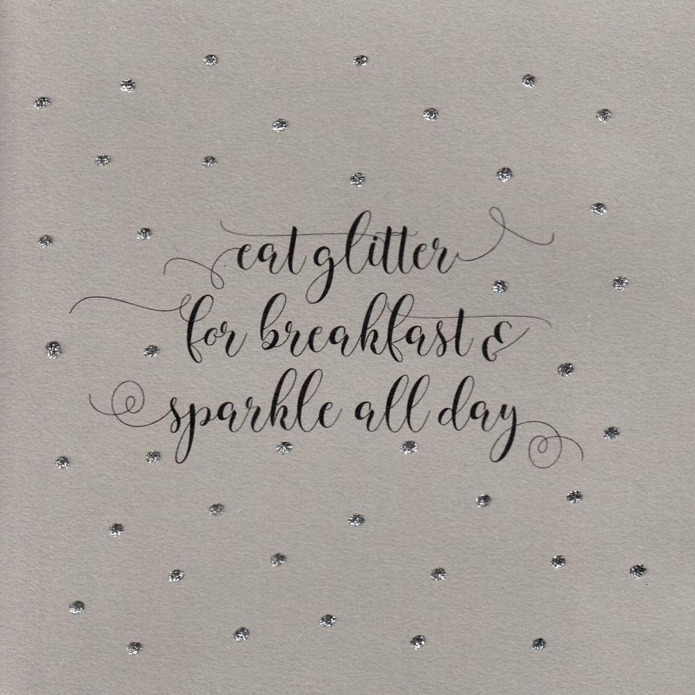 Glitter Dots  | Eat Glitter for breakfast...