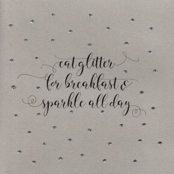 Glitter Dots  | Eat Glitter for breakfast...