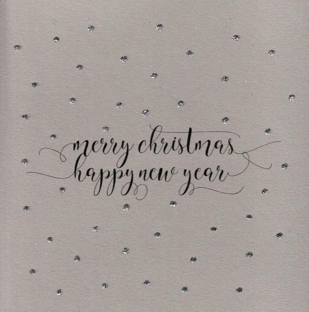 Christmas | Glitter Dots Merry Christmas