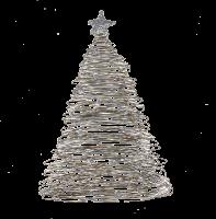 Christmas | Xmas Tree, white