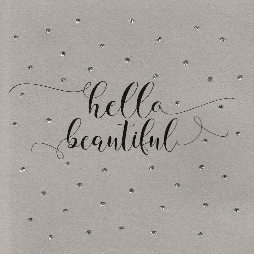Glitter Dots  |  Hello Beautiful