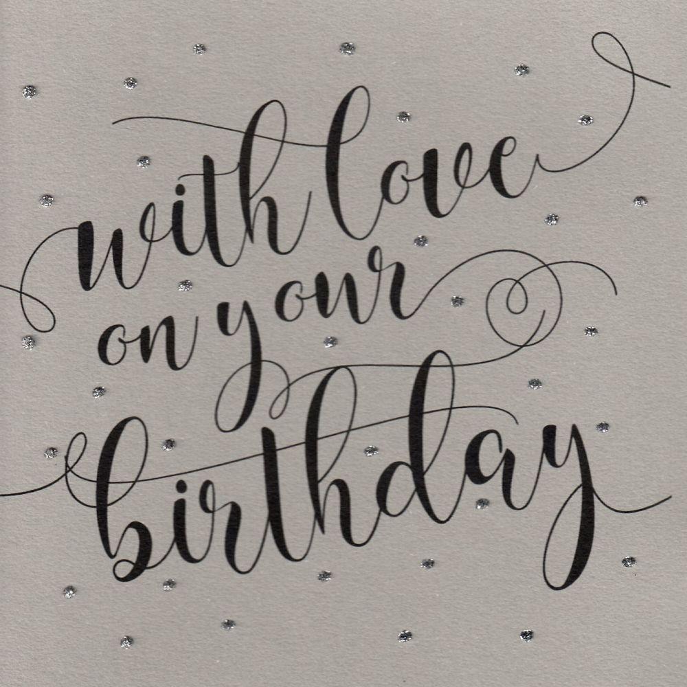 Glitter Dots  XL  |  Happy Birthday