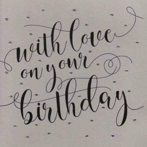 Glitter Dots  XL     Happy Birthday