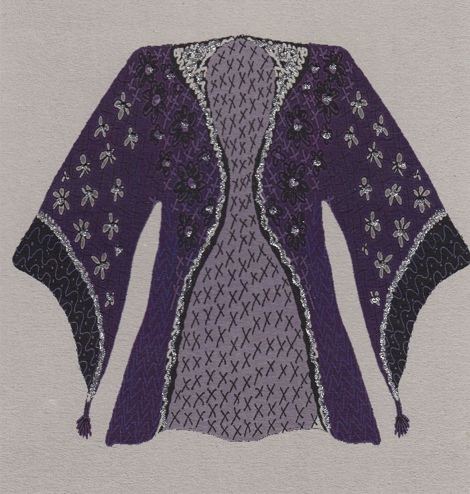 Kimono | Ultra Violet Kimono