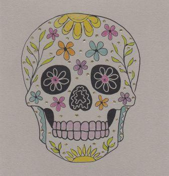 Mystical | Floral Skull