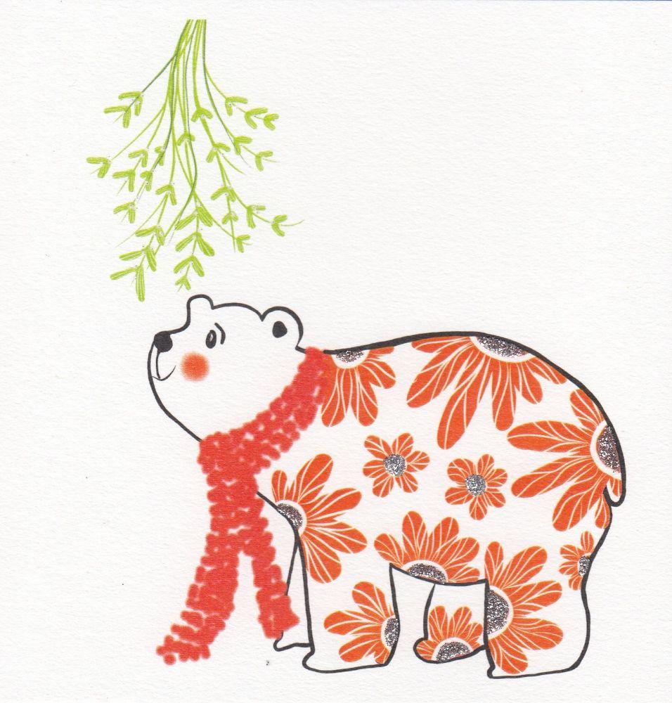 Christmas   Bear - Polar