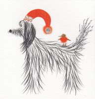 Christmas | Dog, Afghan Hound