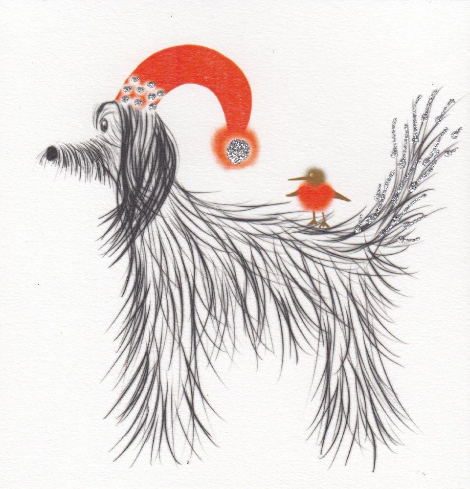 Christmas | Dog, Afghan Hound