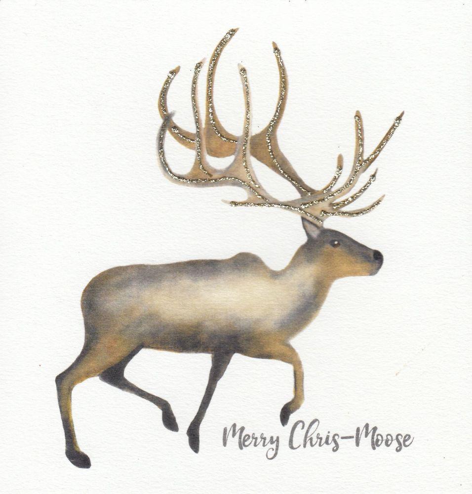 Christmas | Merry Chris-Moose