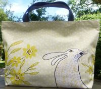 Tote Bag     Lemon Hare