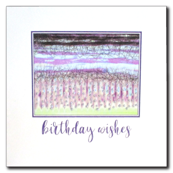 Abstract  |  Birthday Wishes