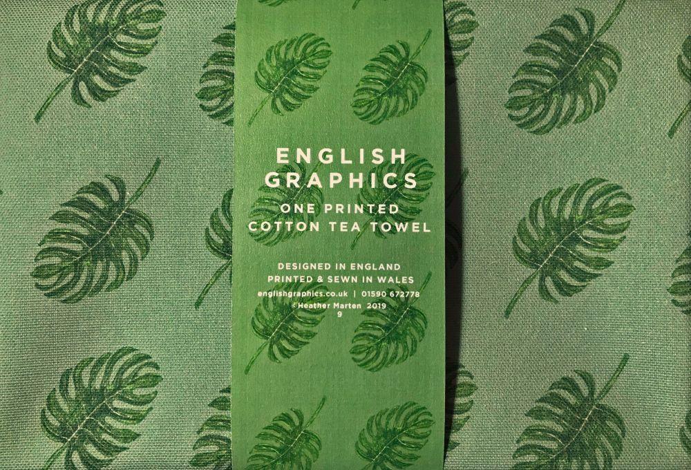 Tea Towel  |  Tropical Leaves