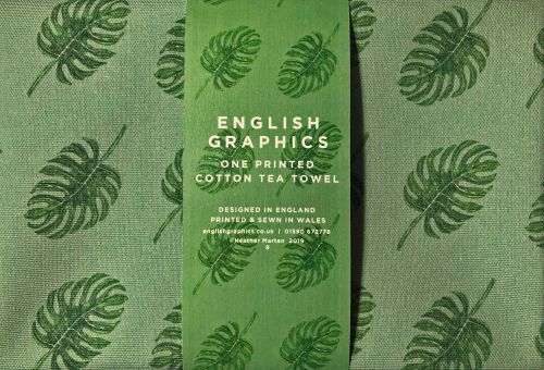 Tea Towel  |  Tropical Leaves