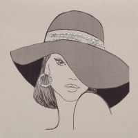 Wide Brimmed Hat - 868C