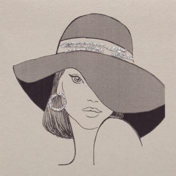 Wide Brimmed Hat - 868C