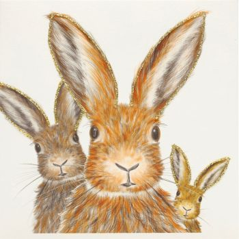 Trio of Hares  - 341AG
