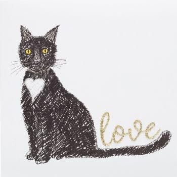 Love cat black