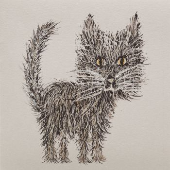 Whiskers cat clay - 338C