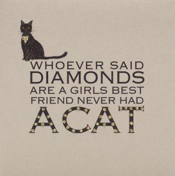 Diamond cat - 99C