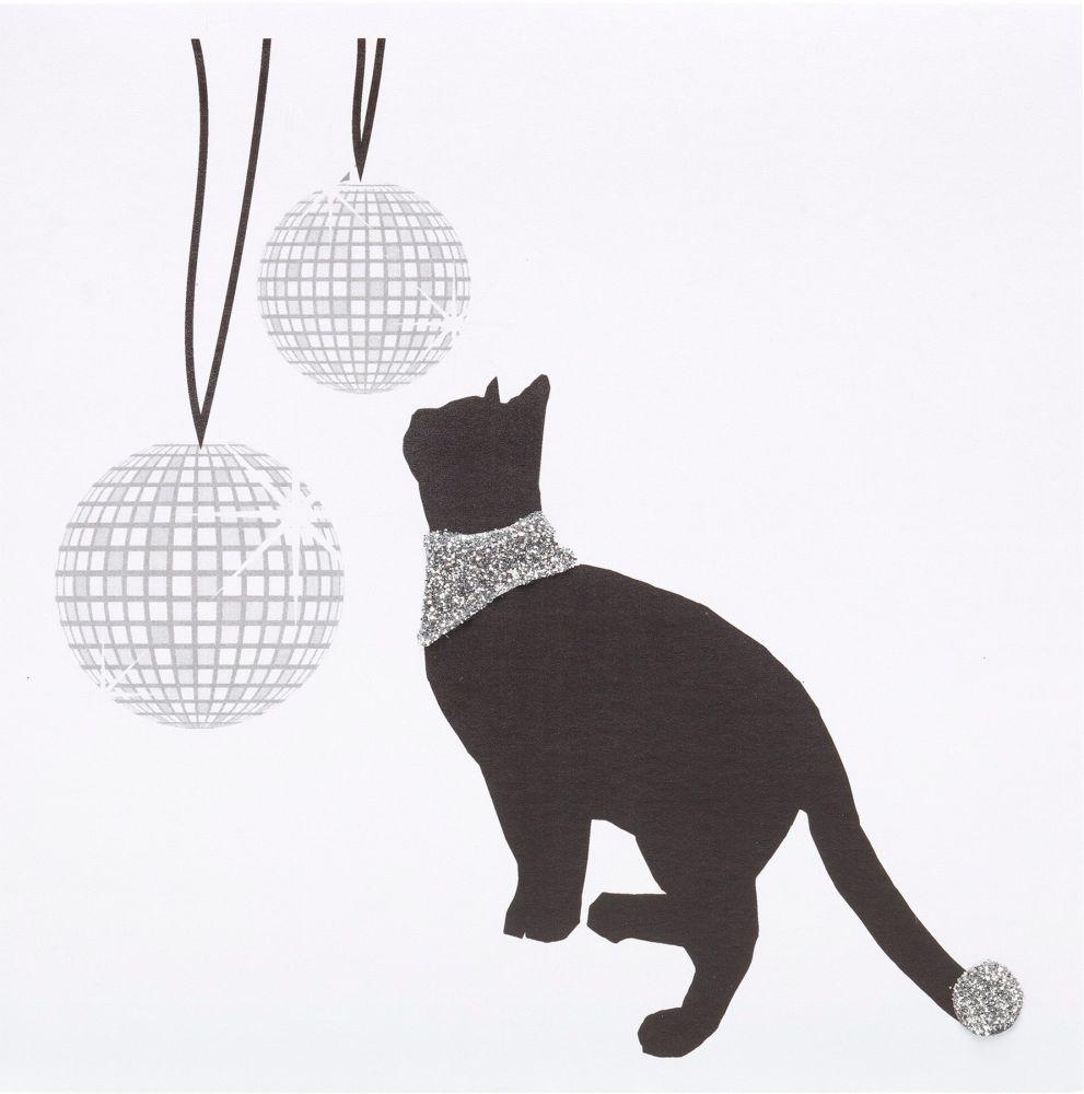 Black Cat Glitterball